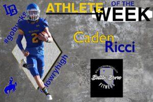 Caden Ricci, Athlete of the Week