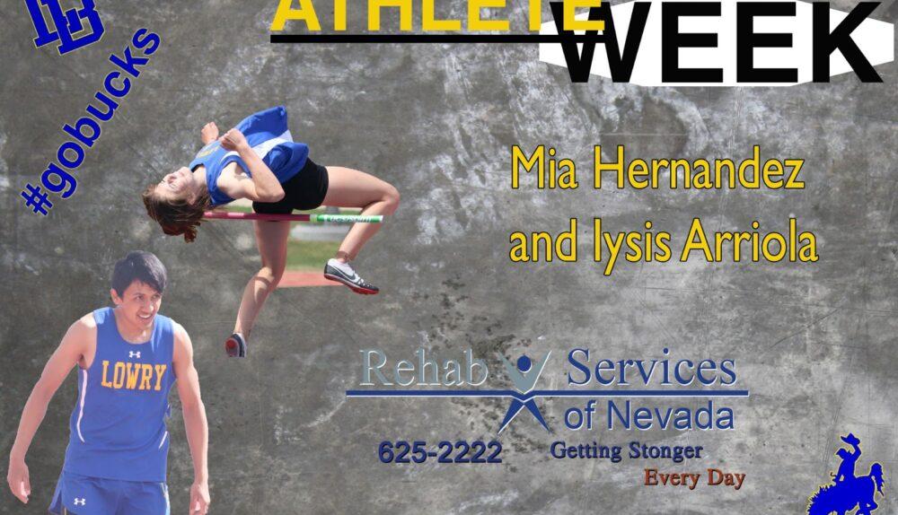 Athletes of the Week, Mia Hernandez and Iysis Arriola