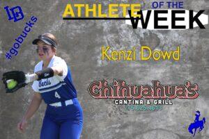 Kenzi Dowd, Athlete of the Week