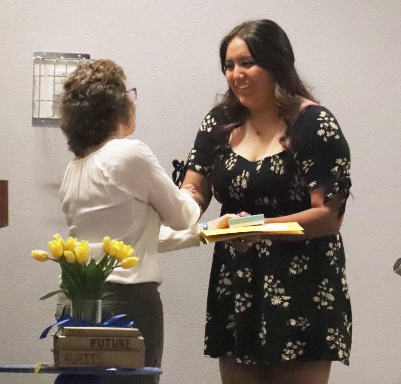 Seniors recognized at Scholarship Night