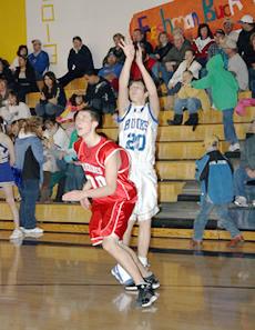JV Basketball drops wolverines