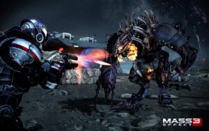 A screen shot from Mass Effect 3. /Courtesy • masseffect.bioware.com