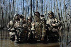 "Cast members of ""Duck Dynasty"". /Courtesy • duckcommander.com"