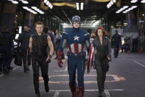 "Screenshot from 'The Avengers"" . /Courtesy • marvel.com"