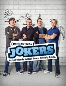 The Impractical Jokers. /Courtesy • TruTV.com