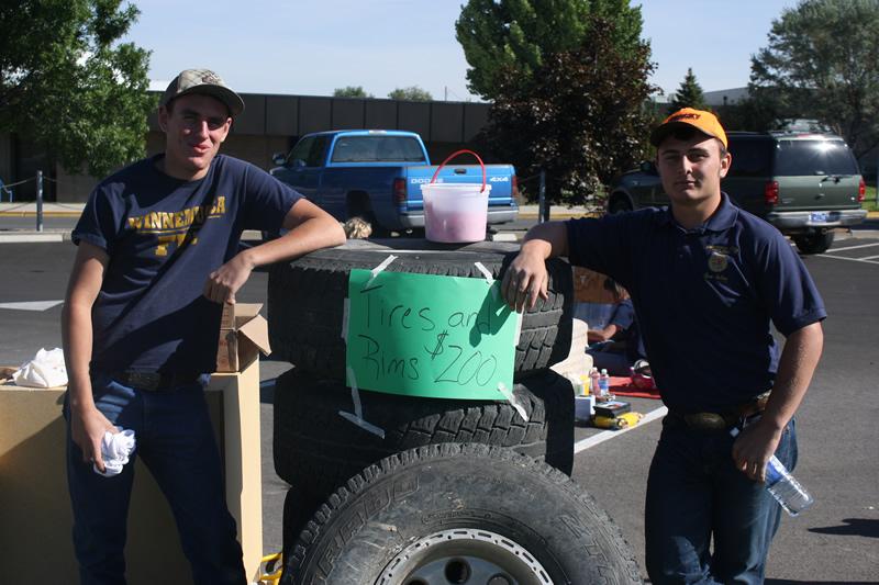FFA holds fundraiser yard sale