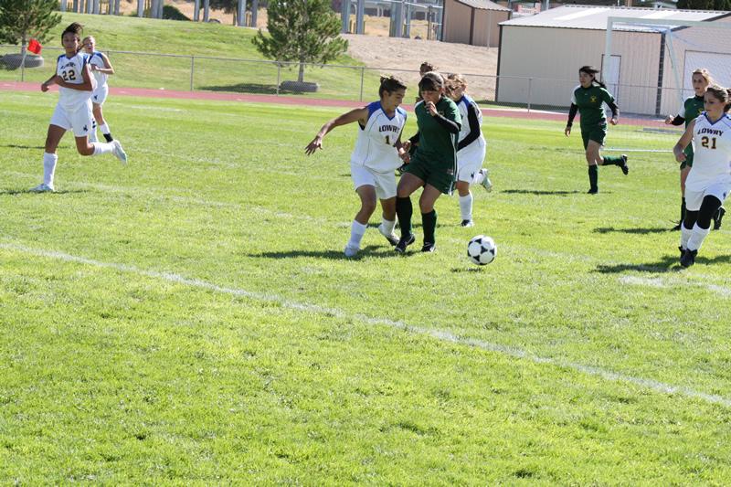 Girls soccer nets impressive win over Battle Mt.