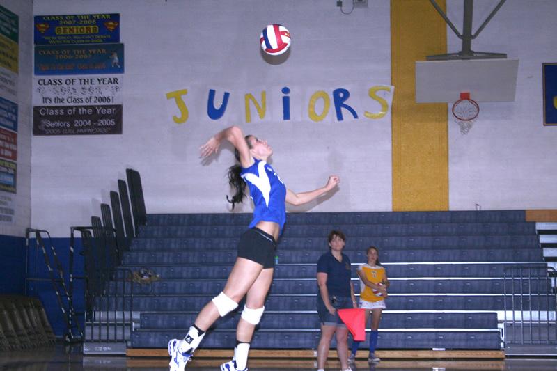 Lady Buckaroo volleyball keeps rolling in league play