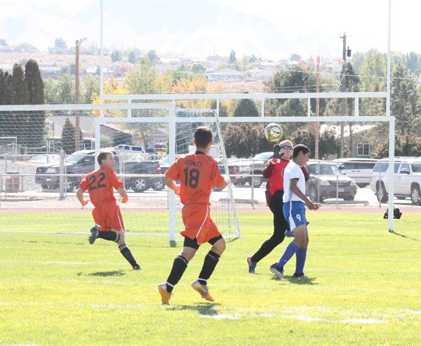Varsity boy's soccer upsets Fernley Vaqueros