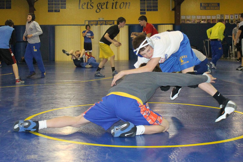 Wrestlers return to work