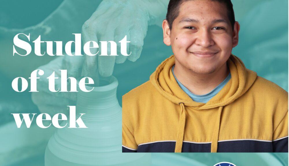 Angel Acevedo Student of the Week