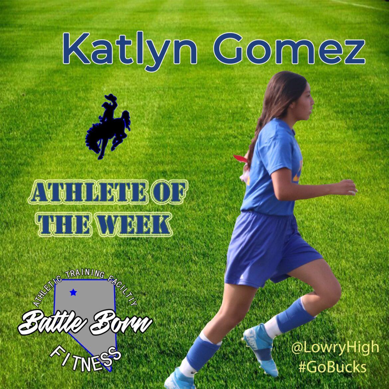 Athlete of the Week: Katlyn Gomez