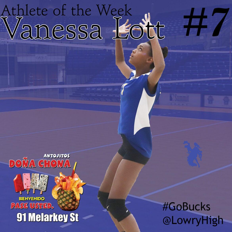 Vannessa Lott: Athlete of the Week