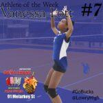 Vanessa Lott Athlete of the Week