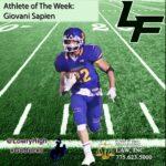 Giovani Sapien Athlete of the Week